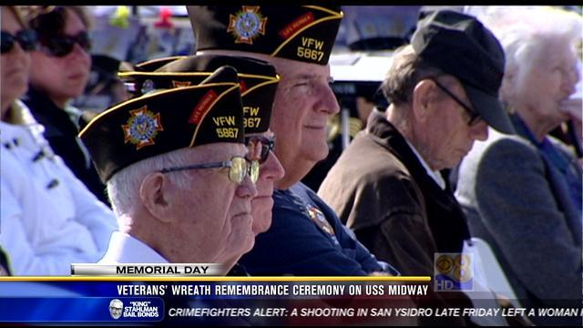 Memorial Day ceremonies honor local veterans