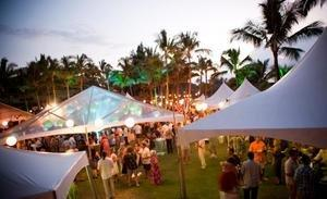 Luxury Maui Resort Set to Host Kapalua Wine & Food Festival June 6-9, 2013