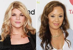 Kirstie Alley, Leah Remini | Photo Credits: Robin Marchant/Getty Images, Jonathan Leibson/WireImage