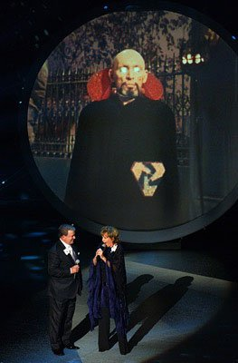 "William Shatner and Frederica Von Stade perform ""Star Trek"" Emmy Awards - 9/18/2005"