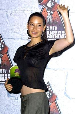 Lucy Liu Best Villain Kill Bill Vol. 1 MTV Movie Awards - 6/5/2004