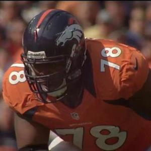 How will Denver Broncos offensive tackle Ryan Clady's ACL injury affect Peyton Manning in 2015?