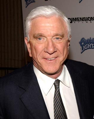 Leslie Nielsen at the LA premiere of Dimension's Scary Movie 3