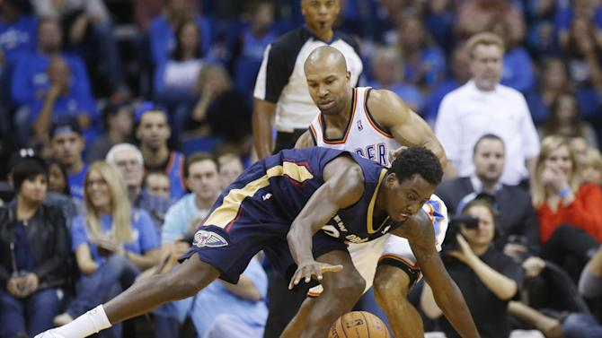 Roberts hits jumper, Pelicans top Thunder 105-102
