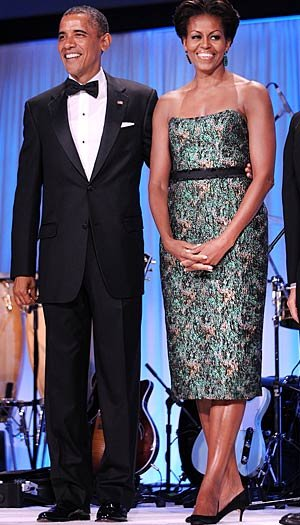 The Obamas work with fitness consultant Cornell McClellan to help them stay in shape. Olivier Douliery-Pool/Getty Images