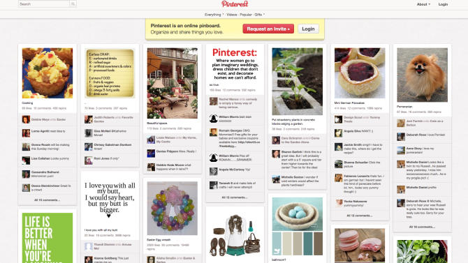 A lawyer says she has deleted her Pinterest account over fears of copyright infringement