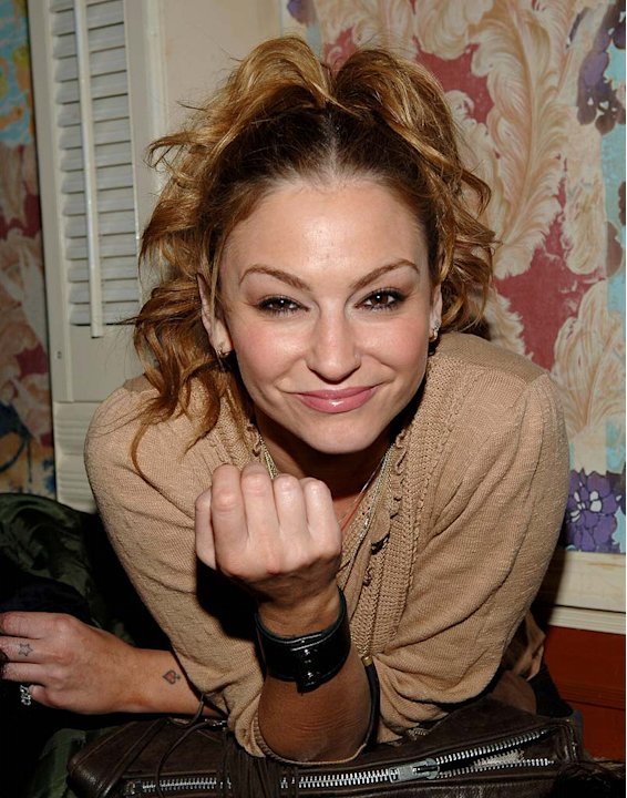 Drea de Matteo at Mercedes-Benz Fashion Week Fall 2007 in New York City , New York on February 3, 2007.