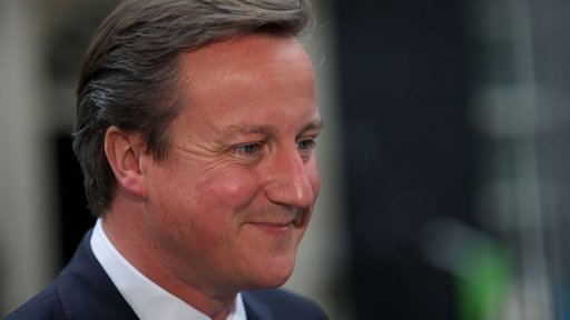 Cameron Urges World To Unite Against Hunger