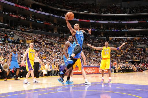 Thunder rally past Lakers, take 3-1 series lead