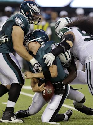 Simms impressive as Jets top Eagles 27-20