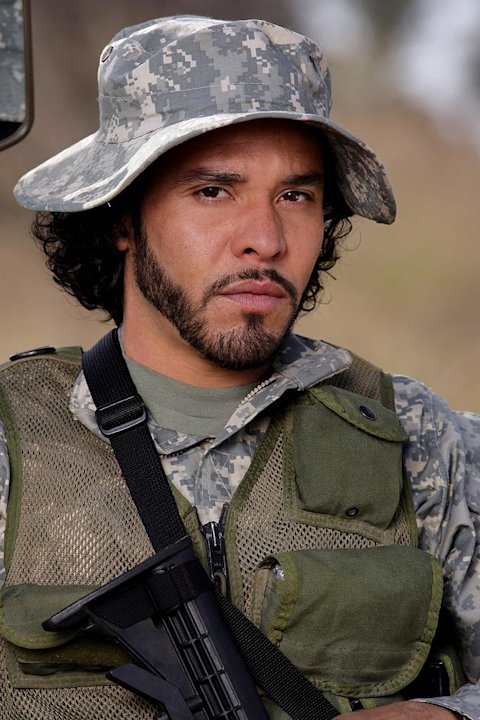 Michael Irby stars in The Unit on CBS.