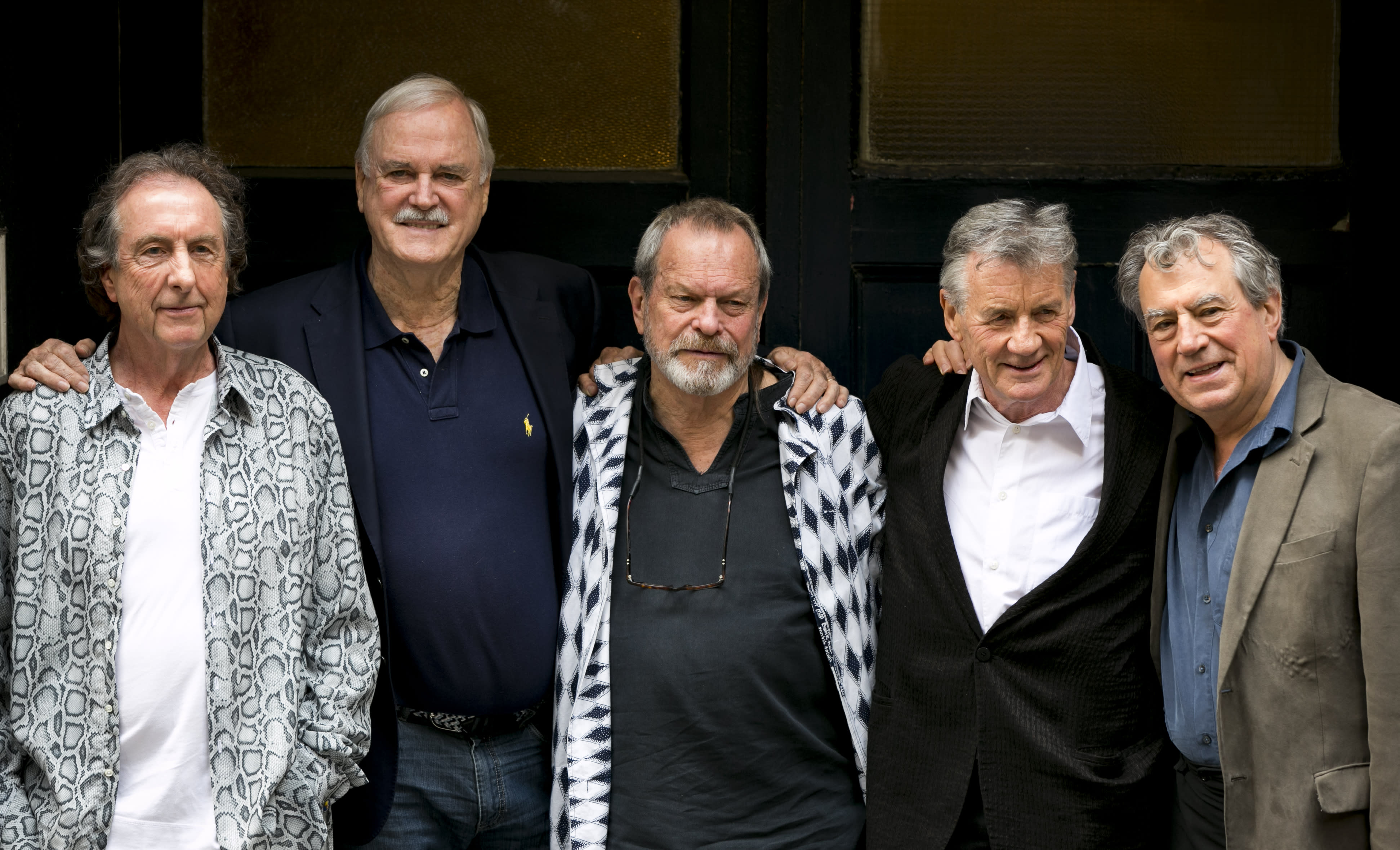 Seriously silly, Monty Python reunites for a weekend tribute
