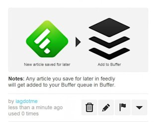 5 Ways to Turbo Boost your RSS with Feedly and IFTTT image feedly to buffer 540x4301