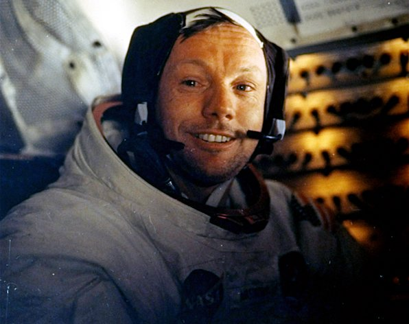 A pioneering astronaut and the first person to step onto the moon, Neil Armstrong will be remembered for leaving his footprints on the lunar surface and inspiring future generations to take larger leaps in space exploration. (AP Photo/NASA)