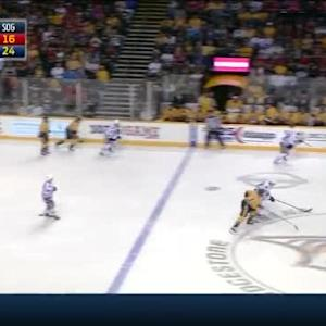 Blackhawks at Predators / Game Highlights