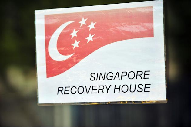 President Tony Tan and Mrs Mary Tan visited the Team Singapore's recovery centre at the University of East London - a five-minute drive from the Athletes' Village on Thursday. The President represente