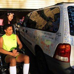For the Second Time, One Van Offers an Injured Alaska Student the Gift of Mobility