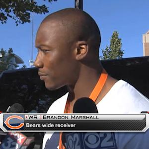 Chicago Bears wide receiver Brandon Marshall: 'The clock is ticking'