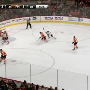 Steve Mason Save on Keith Yandle (00:27/OT)