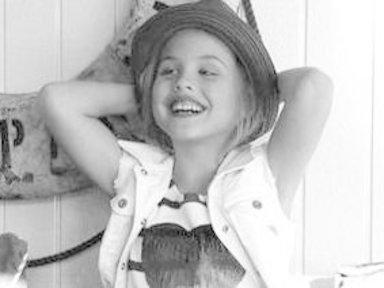 Anna Nicole Smith's Daughter, 6, Models for Guess