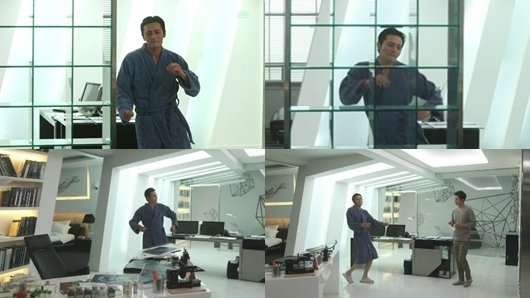 'Grace of Gentleman' Jang Dong-gun shows a comic mambo dance