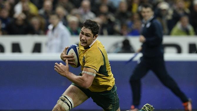 Wallaby lock and key lineout jumper Rob Simmons will miss Saturday's match in Sydney as well as the Bledisloe Cup showdown against New Zealand in Auckland a week later