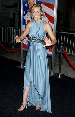 Leslie Bibb at the LA premiere of Columbia's Talladega Nights: The Ballad of Ricky Bobby