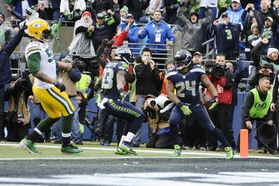 The NFL will call a penalty on Marshawn Lynch for grabbing his crotch during the Super Bowl