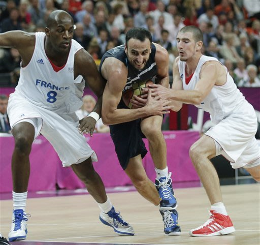 France men beat Argentina 71-64 in Olympic hoops