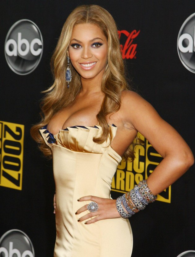 3. US superstar Beyonce made the top three / WENN