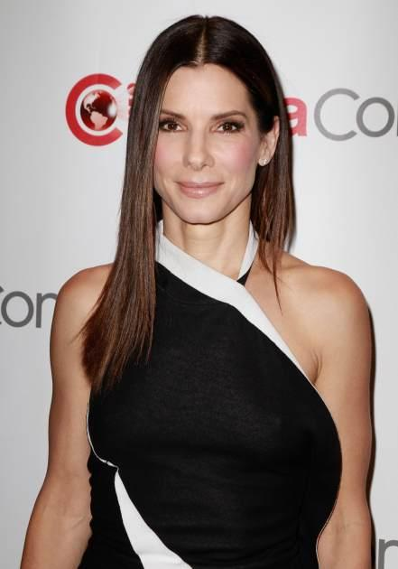 Sandra Bullock arrives at the 20th Century Fox Cinemacon Press Conference at Caesars Palace during CinemaCon 2013 on April 18, 2013 in Las Vegas -- Getty Premium