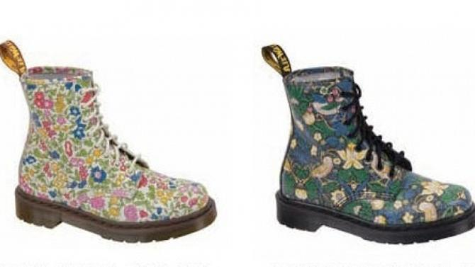 The Liberty London For Dr. Martens Floral Prints collaboration