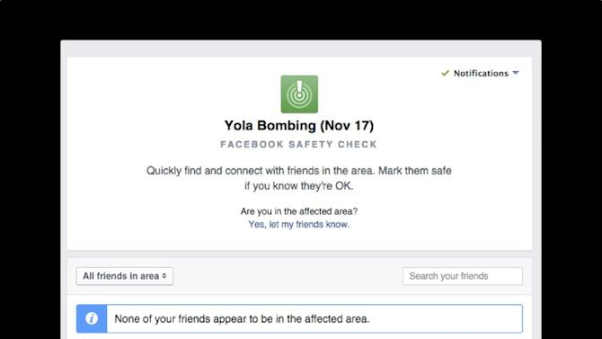 Facebook quickly turns on 'Safety Check' following deadly bombing in Nigeria