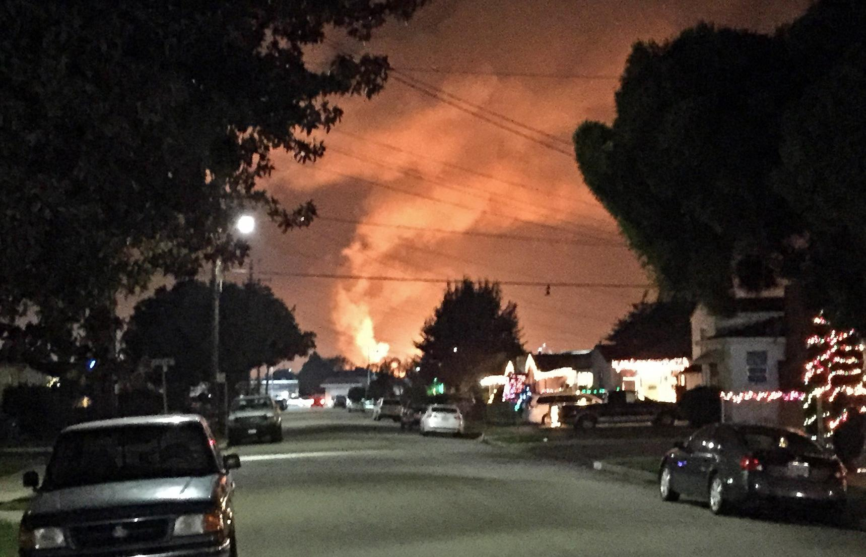 Chevron: Big flames at refinery no cause for alarm