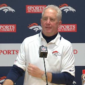 Broncos postgame press conference