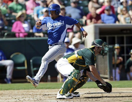 A's slow Royals in 6-3 win