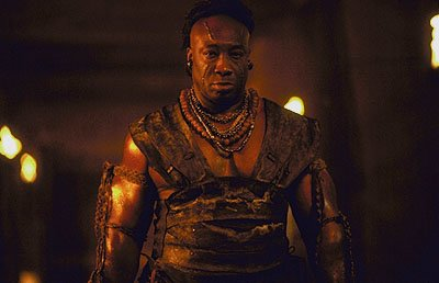 Michael Clarke Duncan as Balthazar in Universal's The Scorpion King