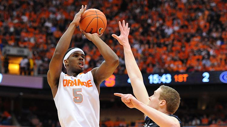 NCAA Basketball: Georgetown at Syracuse