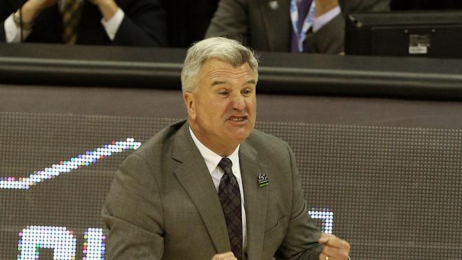 Bruce Weber of the Kansas State Wildcats