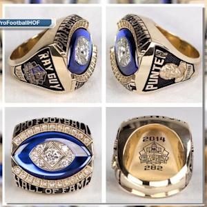 A closer look at Ray Guy's Hall of Fame ring