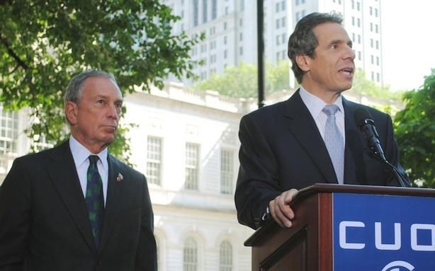 Michael Bloomberg and Andrew Cuomo: Frenemies Forever