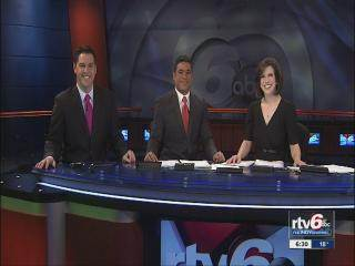 RTV 6 News Good Morning Indiana with Marc Mullins and Beth Vaughn