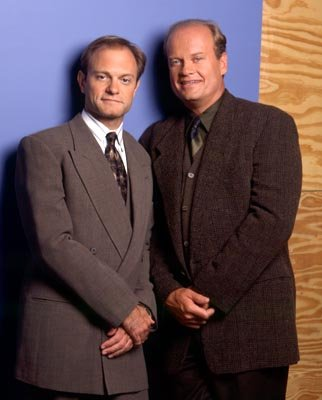 "David Hyde Pierce and Kelsey Grammer NBC's ""Frasier"" Frasier"