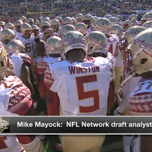 NFL Media's Mike Mayock: 'I've got trust issues with Winston'