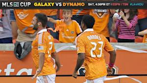 "Dynamo's Barnes says Bruin ""dream forward to play with"""