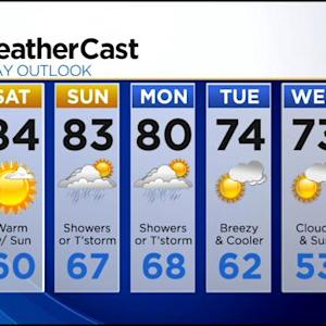 KDKA-TV Evening Forecast (7/11)