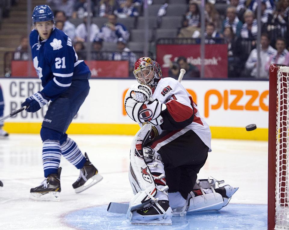 Maple Leafs beat Senators 5-4 in shootout
