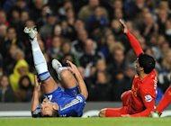 John Terry, left, suffered the injury in a challenge with Luis Suarez, right, last week