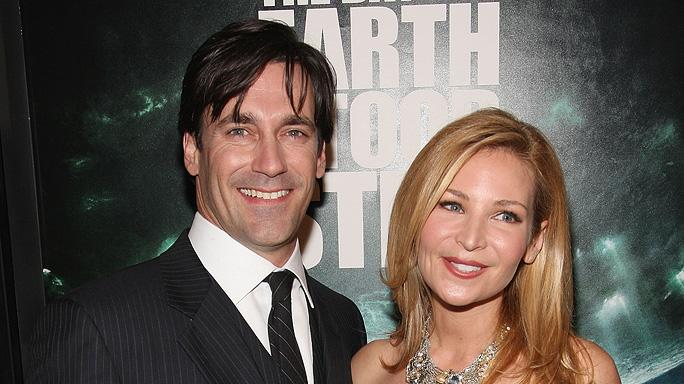 The Day the Earth Stood Still NY Premiere 2008 Jon Hamm Jennifer Westfeldt