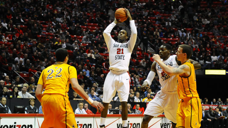 NCAA Basketball: Wyoming at San Diego State